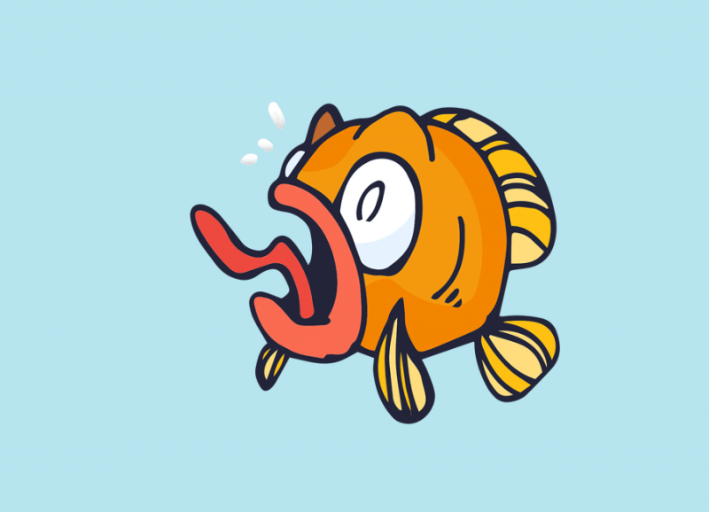 fish-breathe-out-water