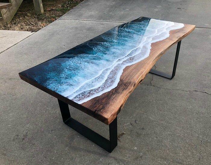 table ocean waves